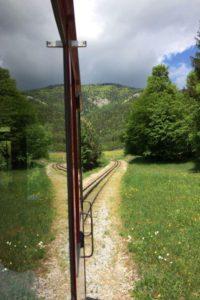 Train à Crémaillère Schafbergbahn, Salzkammergut © Natalie Lantos