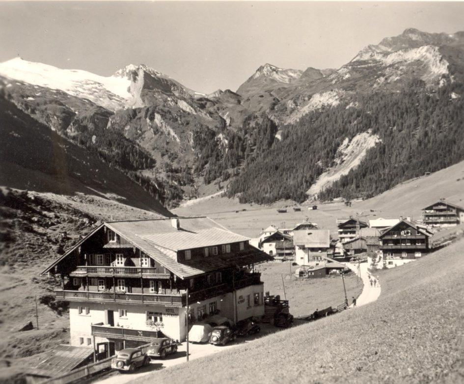Ancienne Pension Alpenhof à Hintertux