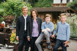 Famille Pfurtscheller, Aktiv & Vitalhotel Bergcristall, hôteliers © Andre Schoenherr