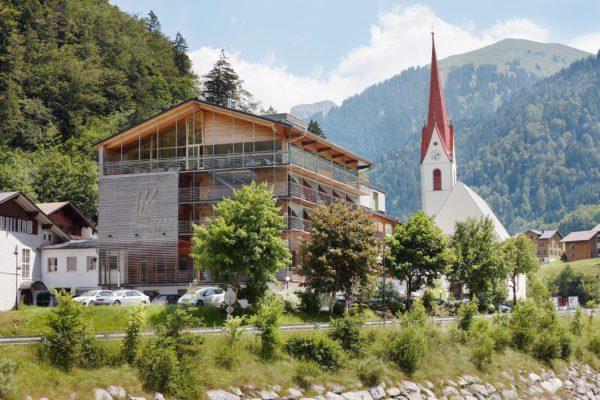 L'hôtel Krone à Au dans le Bregenzerwald