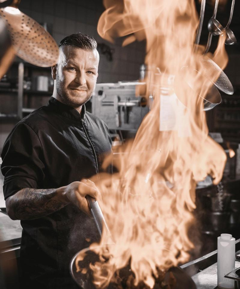 Marvin Trentmann, chef cuisinier au Theresia
