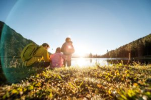 Vacances d'été dans la vallée Stubaital, randonnée en famille © Aktiv & Vitalhotel Bergcristall / Andre Schoenherr