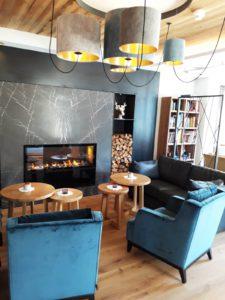 Hotel Jerzner Hof Lounge cheminée