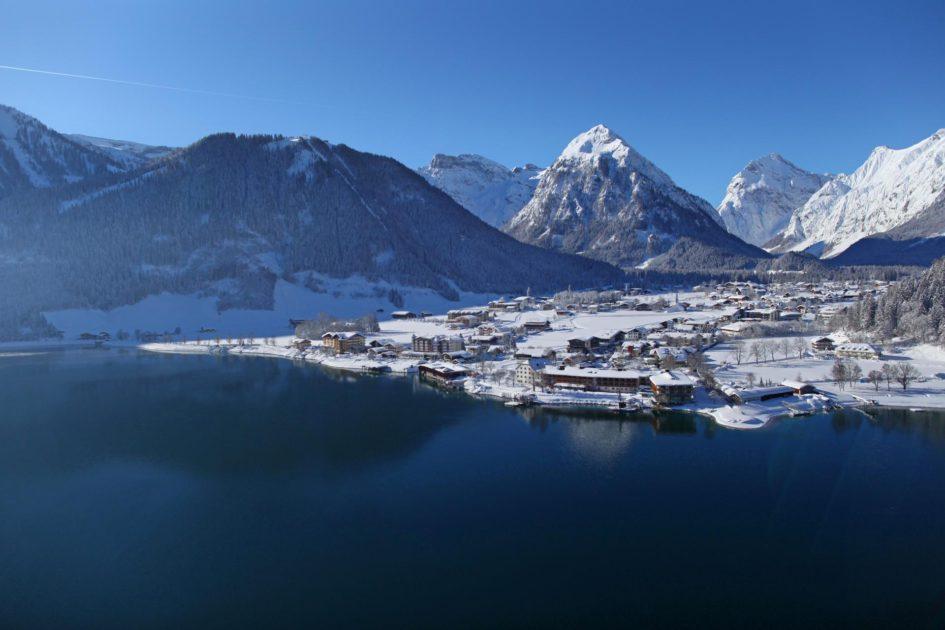Lac Achensee Pertisau Tyrol Hiver (c) Achensee Tourismus